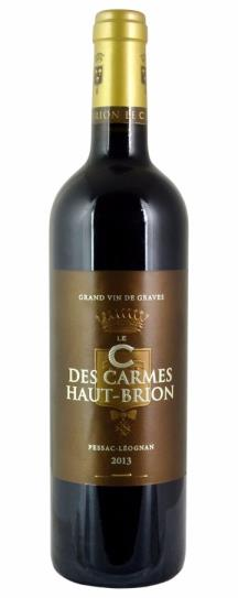 2013 Carmes Haut Brion, Les Clos des Carmes