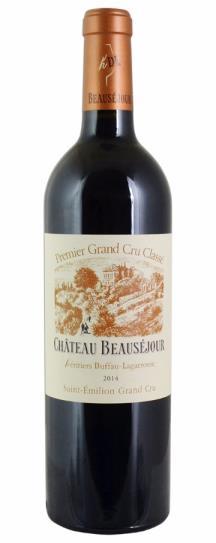 2014 Beausejour (Duffau Lagarrosse) Bordeaux Blend