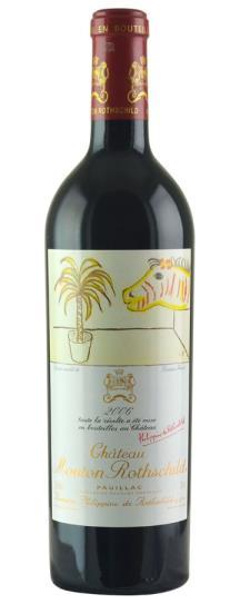 2006 Mouton-Rothschild Bordeaux Blend