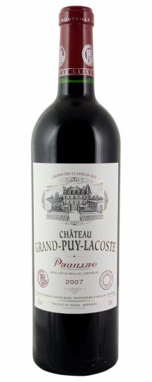 2007 Grand-Puy-Lacoste Bordeaux Blend
