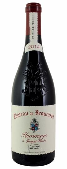 2014 Beaucastel, Chateau Chateauneuf du Pape Hommage A Jacques Perrin
