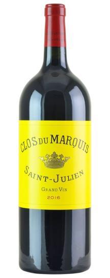 2016 Clos du Marquis Bordeaux Blend