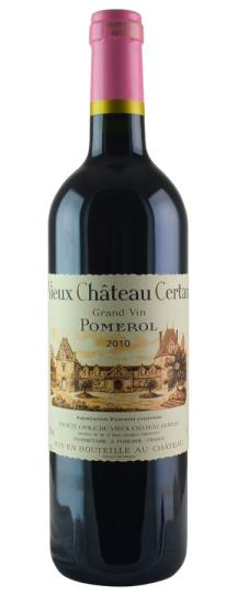 2010 Vieux Chateau Certan Bordeaux Blend
