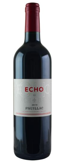 2016 Echo de Lynch Bages Bordeaux Blend
