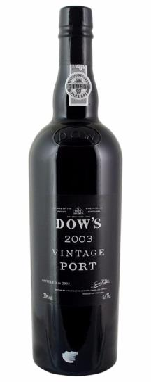2003 Dow Vintage Port
