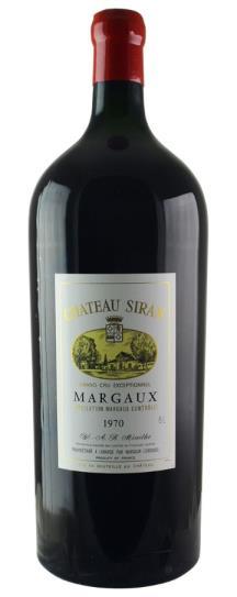 1970 Siran Bordeaux Blend
