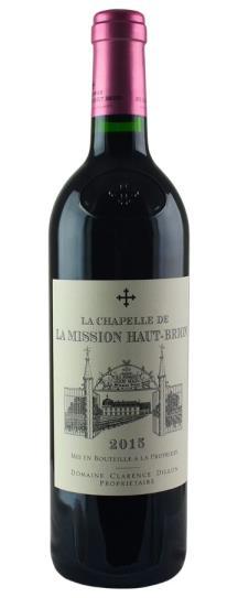 2015 Chapelle de la Mission Haut Brion, La Bordeaux Blend