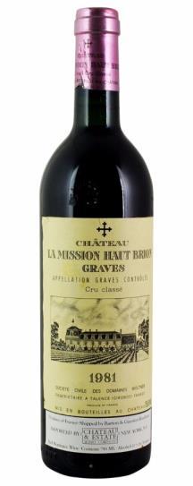 1955 La Mission Haut Brion Bordeaux Blend
