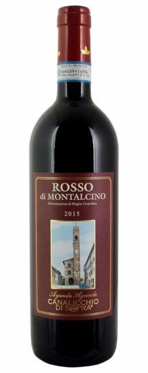 2015 Canalicchio di Sopra Rosso di Montalcino