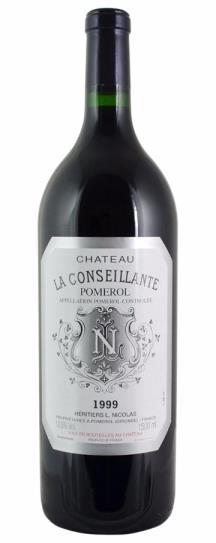 1999 Conseillante, La Bordeaux Blend