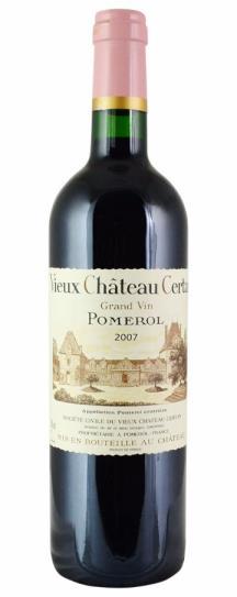 2007 Vieux Chateau Certan Bordeaux Blend