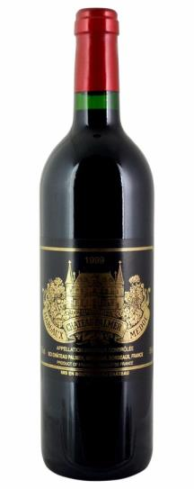 1999 Chateau Palmer Bordeaux Blend
