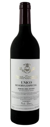 NV Vega Sicilia 2017 Release Unico Reserva Especial