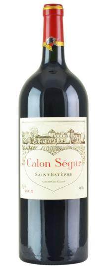 2012 Calon Segur Bordeaux Blend