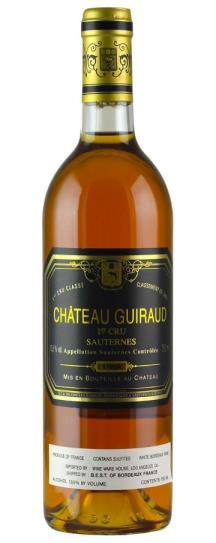 1988 Chateau Guiraud Sauternes Blend