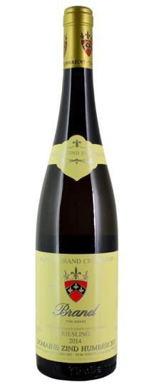 2014 Zind Humbrecht, Domaine Riesling Brand Grand Cru