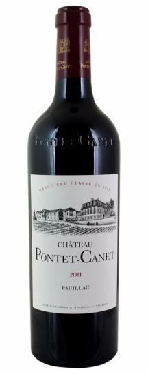 2011 Pontet-Canet Bordeaux Blend