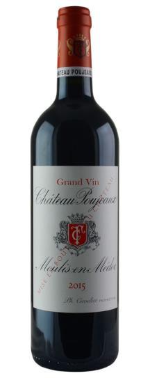 2015 Poujeaux Bordeaux Blend