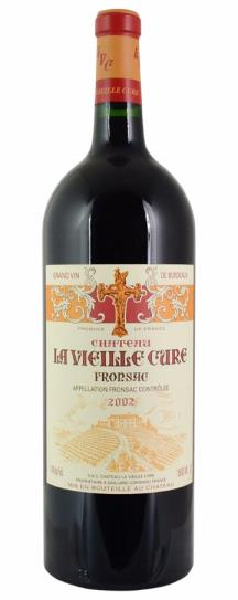 2002 La Vieille Cure Bordeaux Blend