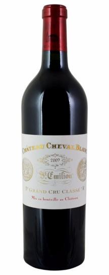2009 Cheval Blanc Bordeaux Blend