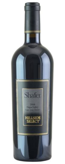 2008 Shafer Vineyards Cabernet Sauvignon Hillside Select