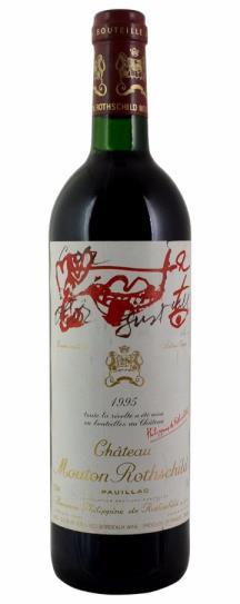 1995 Mouton-Rothschild Bordeaux Blend
