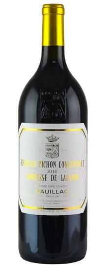2014 Pichon-Longueville Comtesse de Lalande Bordeaux Blend