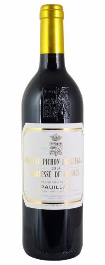 2016 Pichon-Longueville Comtesse de Lalande Bordeaux Blend