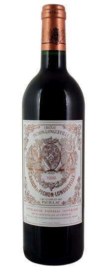 1998 Pichon-Longueville Baron Bordeaux Blend