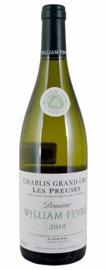 2010 Fevre, Domaine William Chablis les Preuses Grand Cru