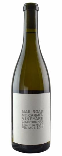 2013 Mail Road Mount Carmel Chardonnay
