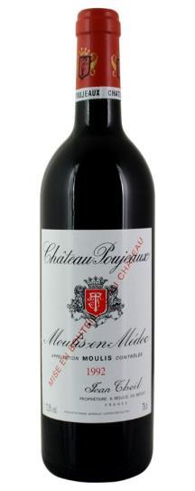 1989 Poujeaux Bordeaux Blend