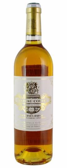 2001 Coutet Sauternes Blend