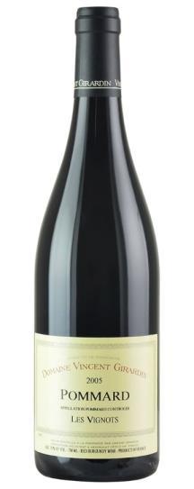 2005 Vincent Girardin Pommard les Vignots
