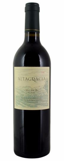 2001 Araujo Estate Altagracia