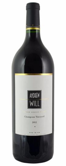 2012 Andrew Will Champoux Vineyard