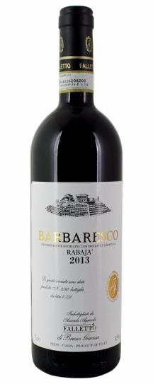 2013 Bruno Giacosa Barbaresco Rabaja