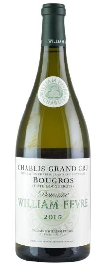 2015 Domaine William Fevre Chablis Bougros Cote Bouguerots Grand Cru