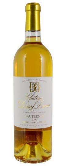 2005 Doisy Daene Sauternes Blend