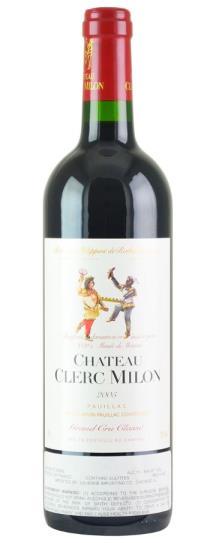 2020 Clerc Milon Bordeaux Blend