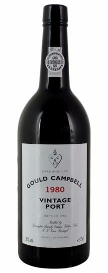 1980 Gould Campbell Vintage Port