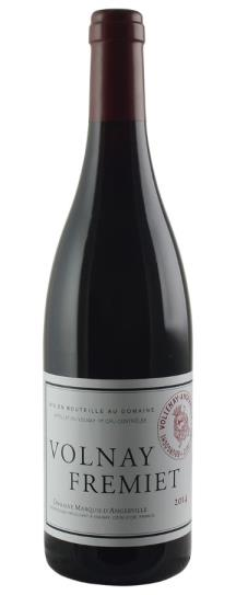 2014 Marquis d'Angerville Volnay Fremiets
