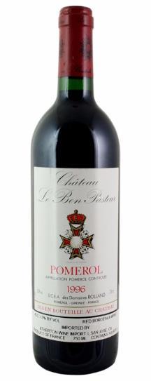 1996 Bon Pasteur Bordeaux Blend