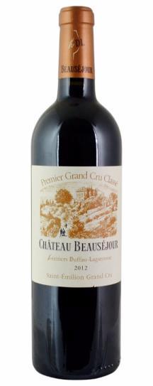 2012 Beausejour (Duffau Lagarrosse) Bordeaux Blend