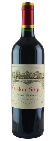 2007 Calon Segur Bordeaux Blend