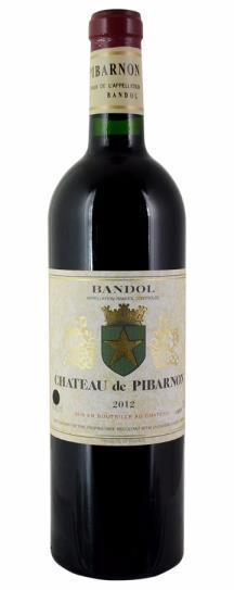 2012 Chateau de Pibarnon Bandol Rouge