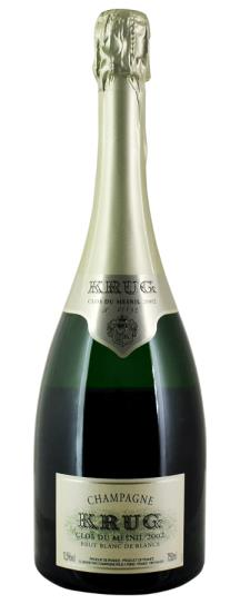 2002 Krug Clos du Mesnil Blanc de Blancs