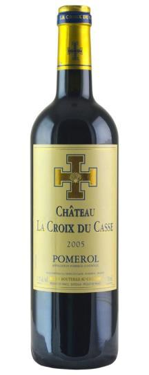 2005 La Croix du Casse Bordeaux Blend