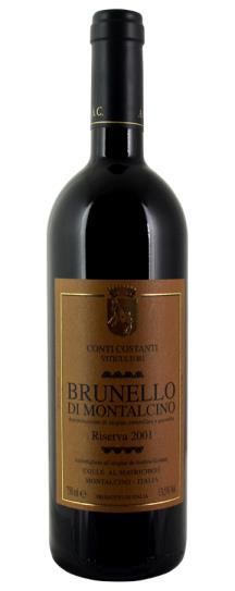 2001 Conti Costanti Brunello di Montalcino Riserva