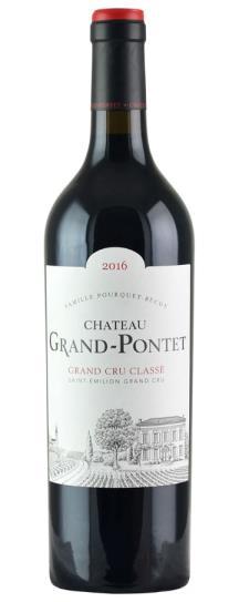 2016 Grand-Pontet Bordeaux Blend
